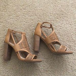 7023df7b2dd Vince Camuto Shoes - Vince Camuto Ceara Huarache block-heel sandals